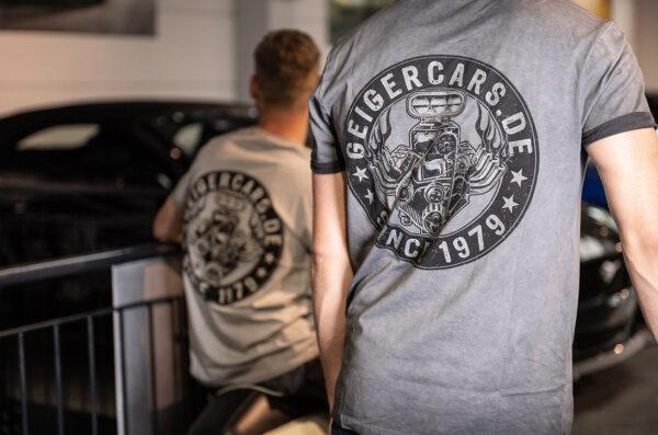 Hochwertiges (Herren) T-Shirt unserer einzigartigen Geiger-Kollektion